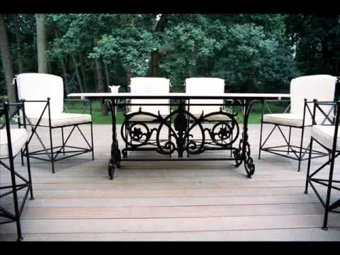 Wrought iron patio furniture jacksonville cast iron