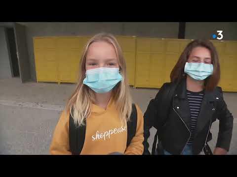 Download Rentrée scolaire : 300 élèves découvrent le nouveau collège de Champier, en Isère