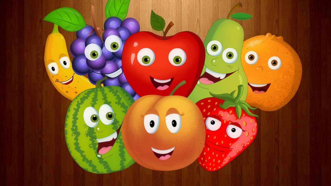 nursery rhymes by kids baby club fruits song original rhymes