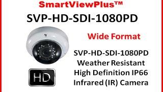 HD Dome Camera| SVP-HD-SDI-1080PD|High Definition Dome Security Camera