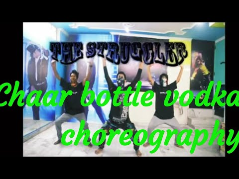 4 bottle vodka choreography :)