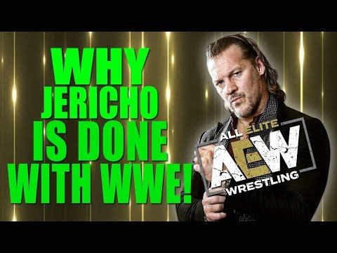 Real Reasons Why Chris Jericho Signed With All Elite Wrestling - Done With WWE (WWE ANGRY)