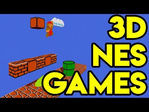 Playing Classic Nintendo Games In 3D! // 3dSenVR