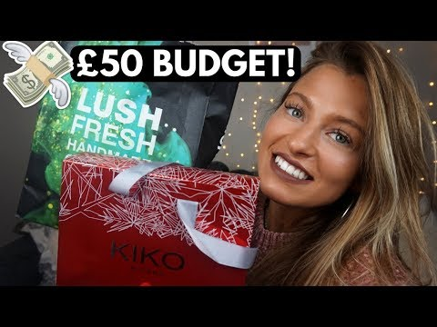 10 CHRISTMAS GIFT IDEAS FOR HER 2017 | £50 Budget!