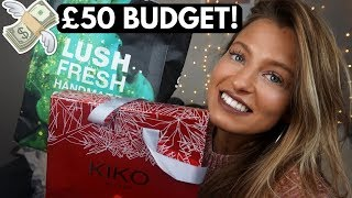 10 CHRISTMAS GIFT IDEAS FOR HER 2017   £50 Budget!