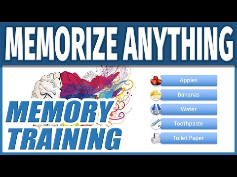 How to Memorize Fast and Easily | Improve Memory Training Te