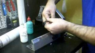 Phil Wood Spoke Cutting And Threading Machine