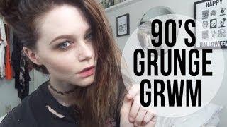90's GRUNGE GRWM