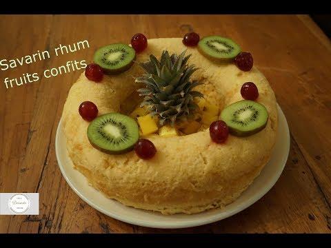 recette-de-savarin-allégé-rhum-et-fruits