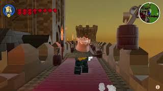 LEGO WORLDS Custom Castle Build
