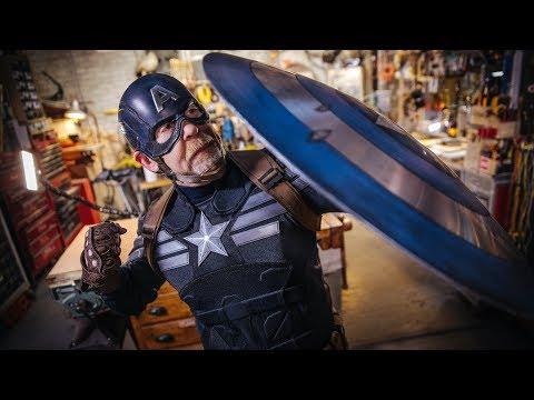 Adam Savage's Captain America Stealth Suit!