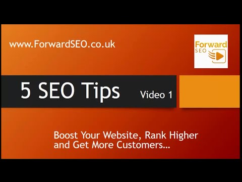 Cheshire SEO, internet marketing Cheshire, how to optimise your business website, 5 SEO tips v.1
