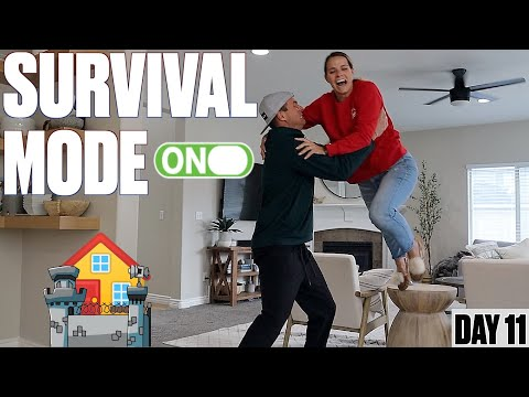 HOW TO SURVIVE BEING STUCK AT HOME WITH FOUR KIDS | DAY 11