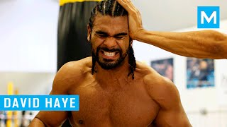David Haye Boxing Training Highlights | Muscle Madness