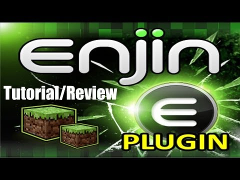 Minecraft-Enjin Minecraft Plugin-Tutorial/Review-Bukkit