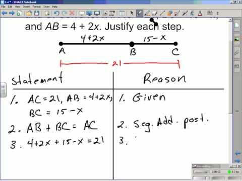 Geometry In Algebra Using Proof In Algebra Youtube