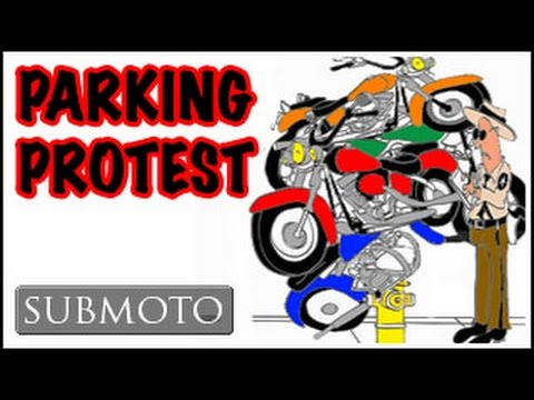 What are your motorcycle parking laws like? (Motovlog)