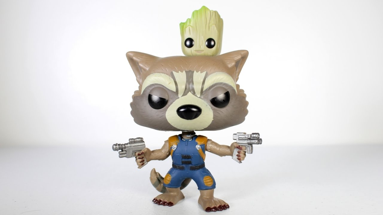 Rocket And Groot Funko Pop Review Youtube