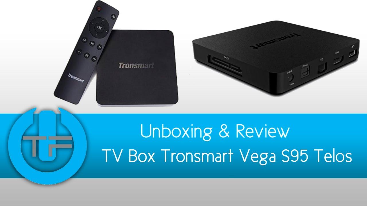 TV Box Tronsmart Vega S95 telos Unboxing & Review
