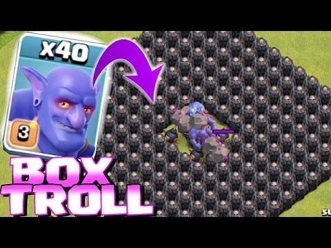 Thumbnail: Clash Of Clans - ALL TROOPS IN A BOX!! (Box troll 2)