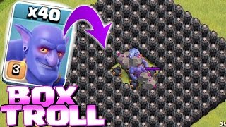 Clash Of Clans - ALL TROOPS IN A BOX!! (Box troll 2)
