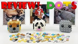 LEGO DOTS Review: 41904 Picture Holders (2020 Set) Doggy Pictures! / Creative Fun!