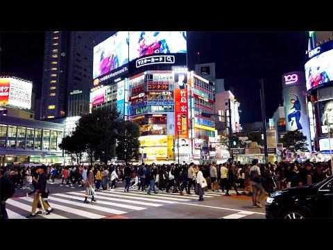 【4K】[東京散歩] 渋谷 表参道 原宿 2019/11/03 [Tokyo Walk] Shibuya, Omotesando And Harajuku