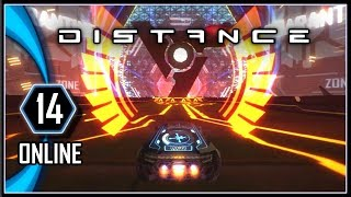 DISTANCE Multiplayer Gameplay - Online PC Racing Game #14
