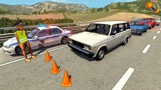 Неадекватные Водители Не Останавливаются По Требованию Дпс | Beamng.Drive