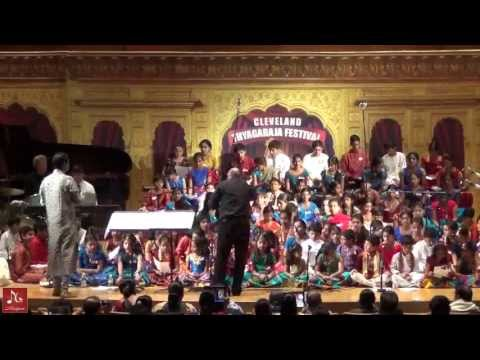 Musiguru Carnatic Symphony at Cleveland Thyagaraja Festival 2013