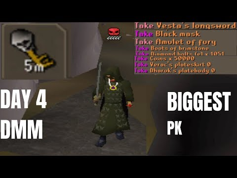 THE BIGGEST PK THIS DMMT (Day 4) $32,000 Deadman Tournament 14 OSRS