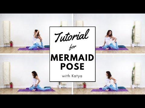 How To Do Mermaid Pose Eka Pada Rajakapotasana