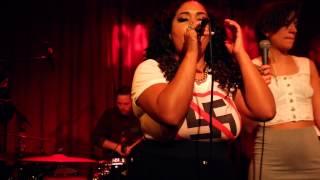 Kristin Amparo - Pappa Kom Hem (Live J Dilla tribute night @ Fasching)