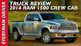 Watch This Truck Review: 2014 RAM 1500 on Everyman Driver