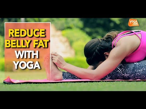 Yoga To Reduce Belly Fat | Seated Forward Bend | Yoga Tak