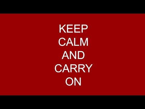 CoronAnthem - (Keep Calm And Carry On) By Annelies & Ben Simon