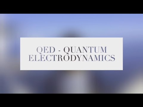 QED - quantum electrodynamics | My breakthrough junior challenge video
