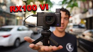Video THE NEW SONY RX100VI + Why it's the Best Vlogging Camera download MP3, 3GP, MP4, WEBM, AVI, FLV Juli 2018