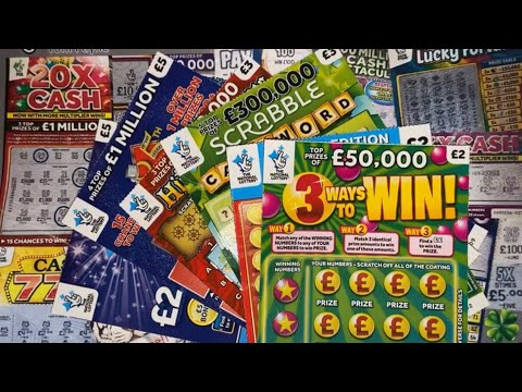 Scratchcards From The National Lottery © (168)
