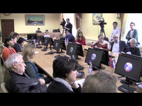 Пресс конференция ректора ТюмГНГУ Владимира Новоселова по итогам 2014 года и план на 2015 год