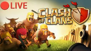 CLASH OF CLANS LIVE || RANK PUSH TO GOLD 2  ||