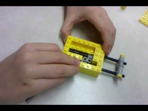 How To Make A Lego Lock Youtube