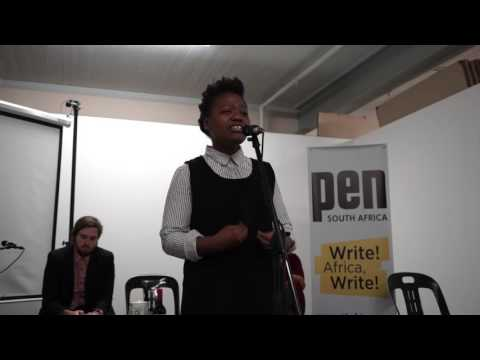 PEN South Africa Young Writers to Watch event at Open Book 2016