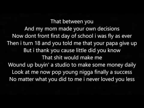 I'm Sorry Dad - By: Devvon Terrell (Lyrics)