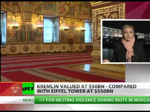 For What It's Worth: Kremlin valued 11 times less than Eiffel Tower