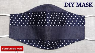 New 2 in 1 Easy Stylish Cute Mask Face Mask Sewing Tutorial Anyone Can Make This Mask Easily