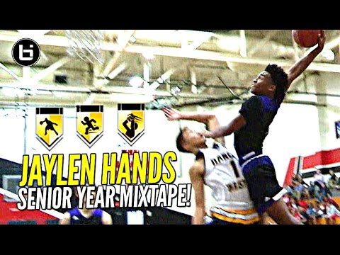 "Jaylen Hands aka ""Baby Westbrook"" Is UCLA's NEXT Great Point Guard! OFFICIAL Senior Year Mixtape!"
