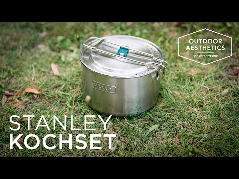 Stanley Adventure Camping Koch Set 10teilig Topf Schüsseln /& Zubehör 660600