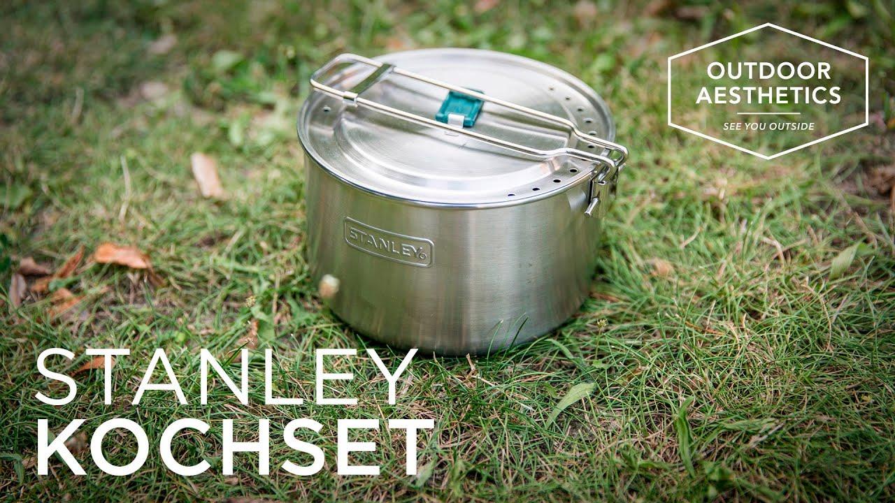 Test & Rezension: STANLEY Adventure Kochset / Kochtopf - YouTube