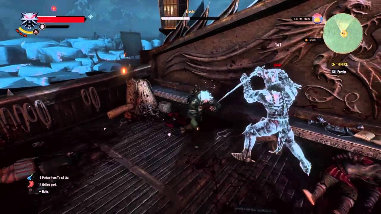 Witcher 3 Eredin Final Boss Glitch Not A Guide Doovi